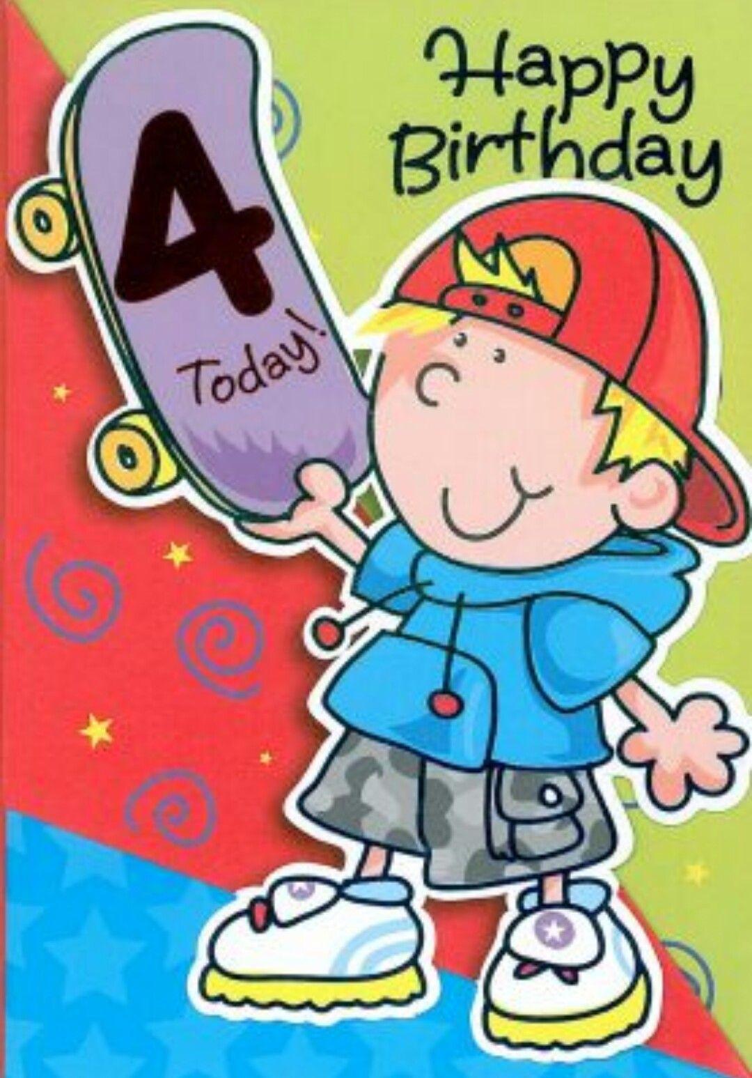 Happy 4th Birthday Max! ☆♡ 4th birthday boys, Happy
