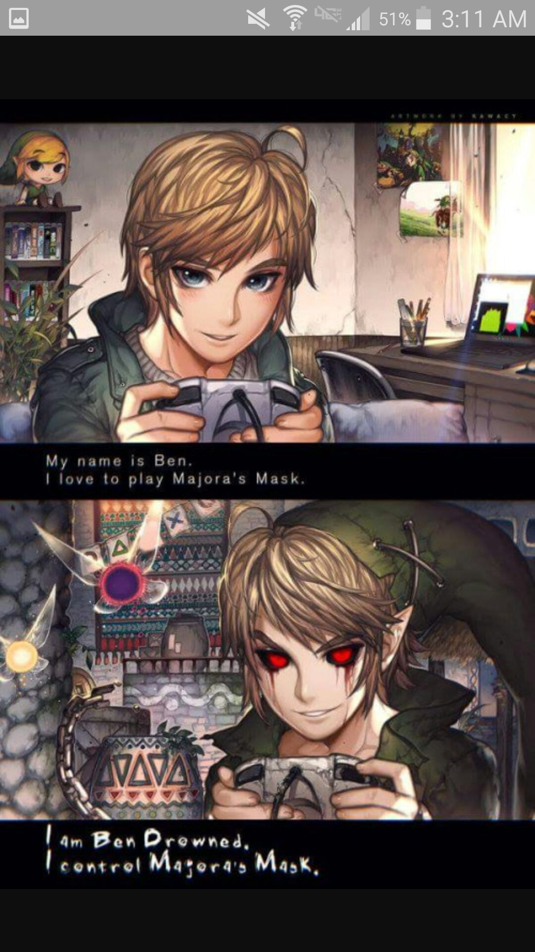 Creepypasta MALE! Characters X MALE! Reader - Author's Note