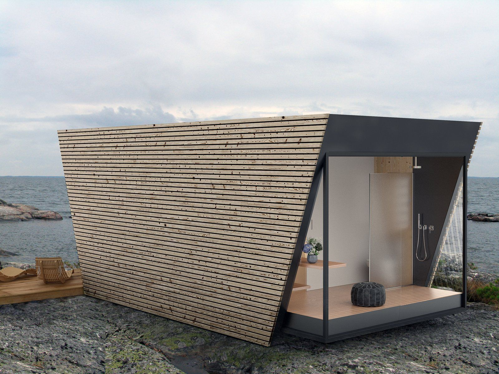 This Modular Eco-Hotel Room Is Poised to Drop Into Nearly Any ...