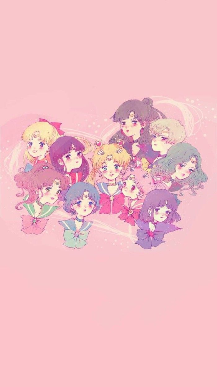 Sailor Moon Ensemble Fanart Sailor Moon Personajes Marinero