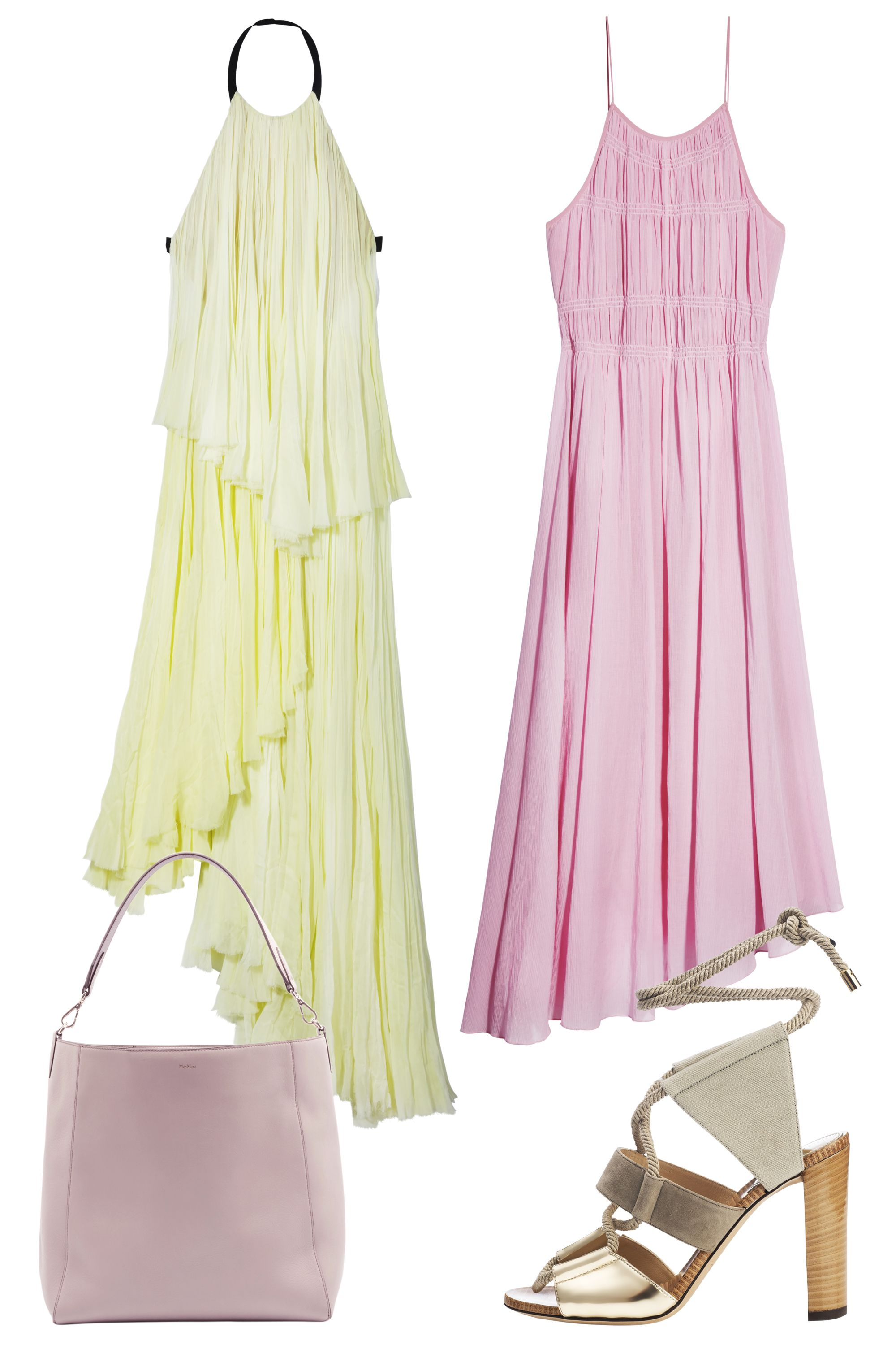 Top dresses to wear to a wedding  The Style How to Wear The New Spring Dresses  Pastel Pretty
