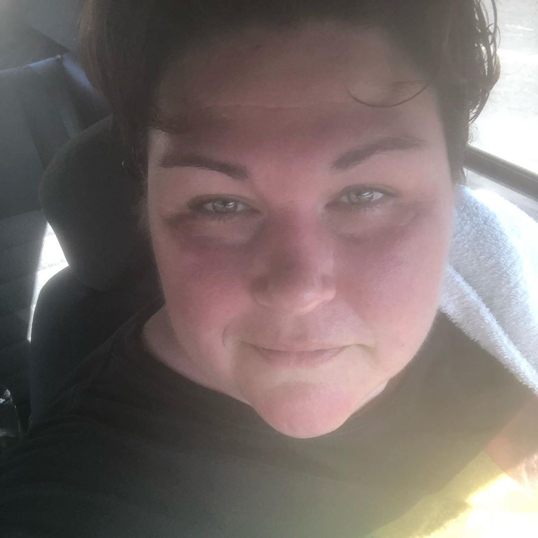 That red sweaty face means I worked it hard today! Get out there and git er dun!  #zumba #weightloss...