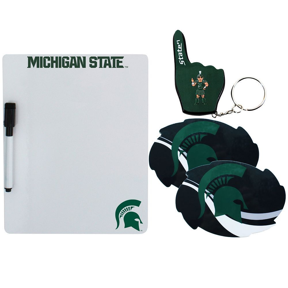 Michigan State Spartans 4-Piece Lifestyle Package, Multicolor