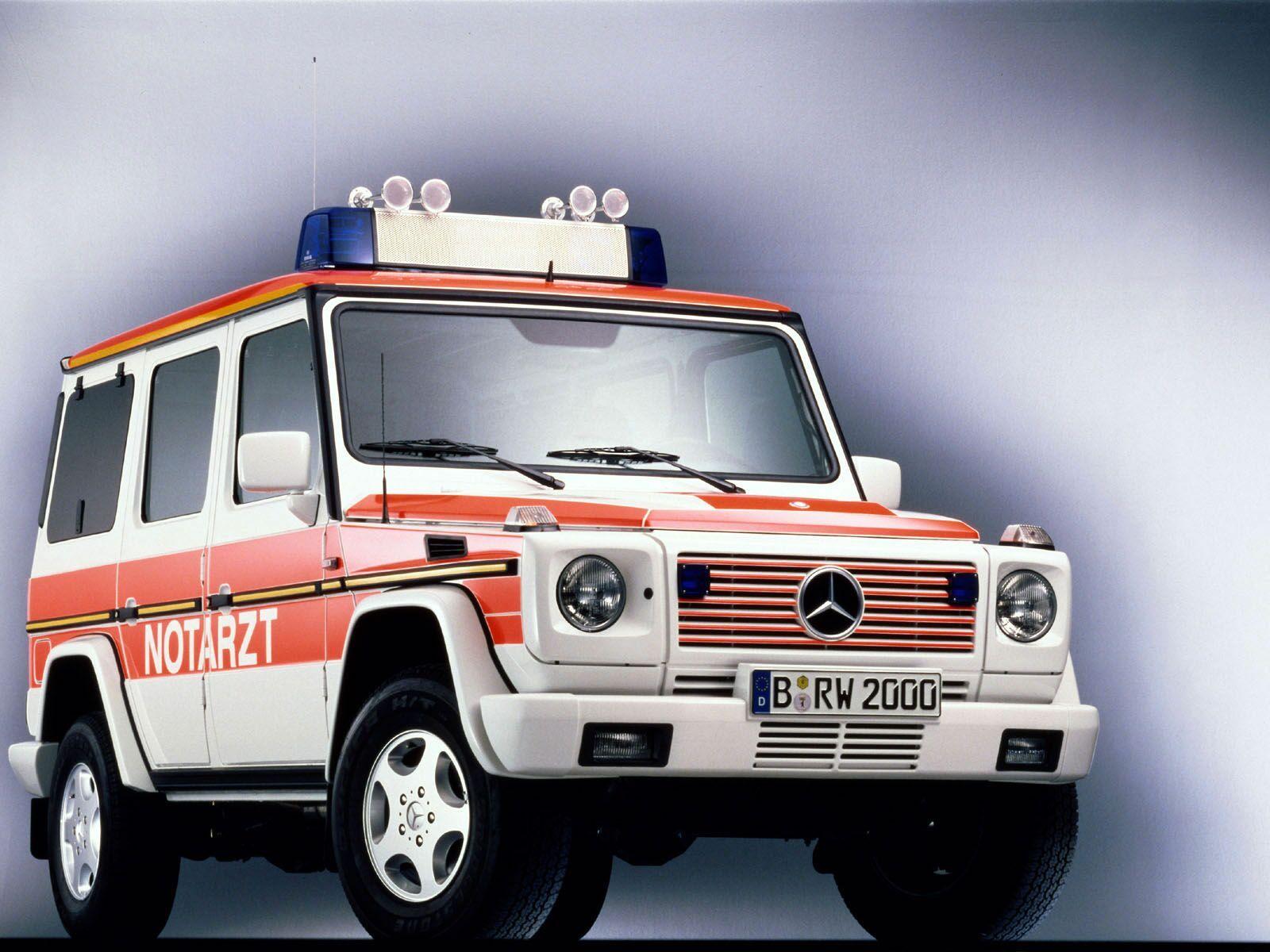 Dutch Ambulance - Mercedes G Wagon
