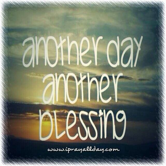 Thank you God for another day Get closer to god