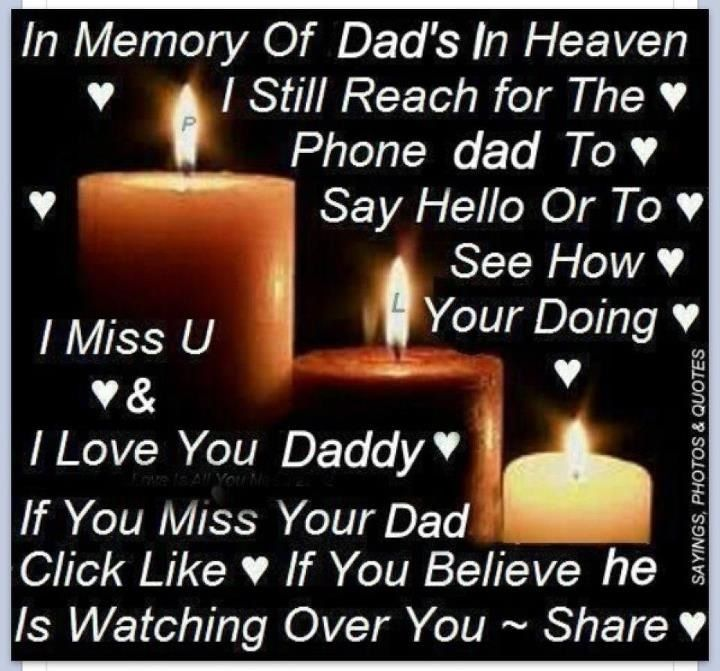 My Dad Dads And Father In Memory Of: In Loving Memory Of My Dad!