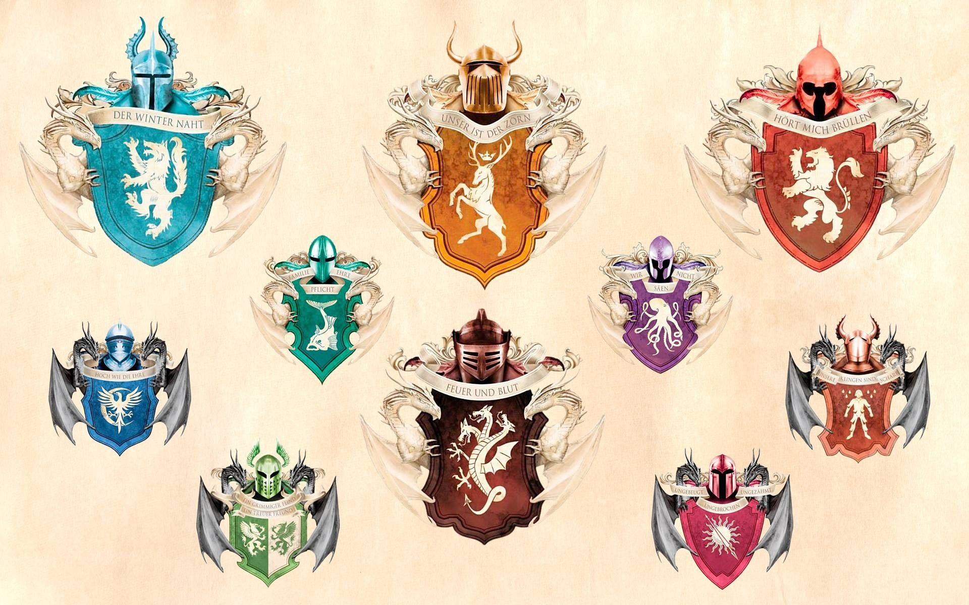 Game Of Thrones - A Song Of Ice And Fire: Westeros-Targaryen ...