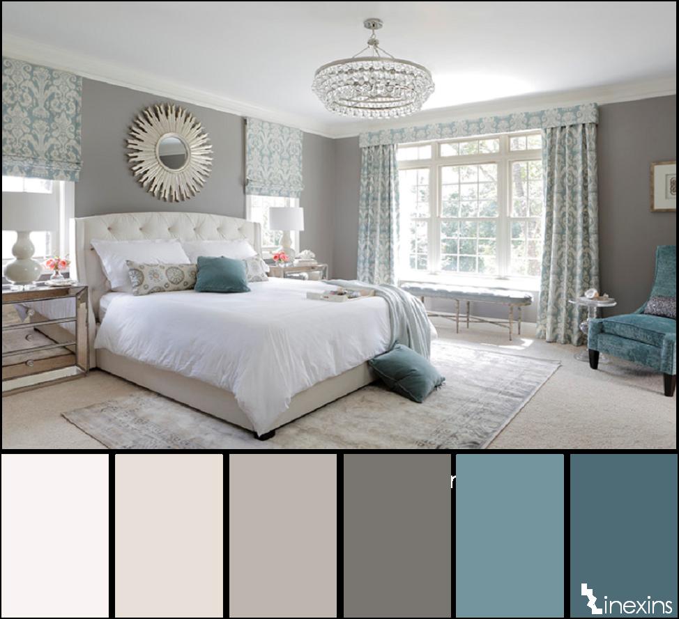 Creando calma en un espacio 10 paletas de color que te - Colores paredes habitaciones ...