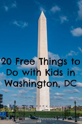20 Free Things To Do With Kids In Washington Dc Kidventurous Washington Dc Travel Washington Dc Vacation Free Things To Do