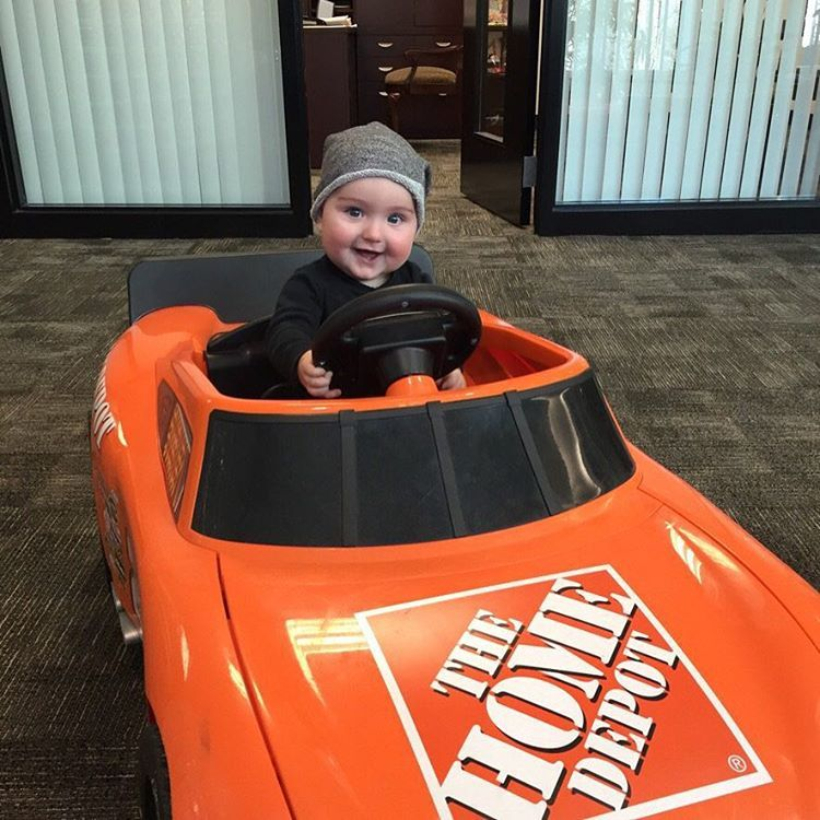 Went to visit Coach today and Brexton took Tony\'s old ride for a ...