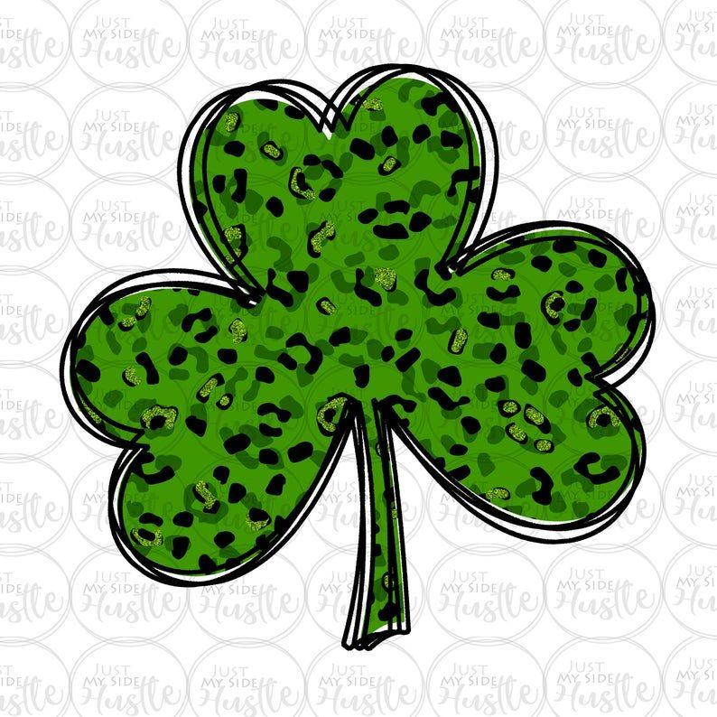 Shamrock Png St Patricks Day Clipart Clover Sublimation Etsy St Patricks Day Clipart Clip Art St Patricks Day