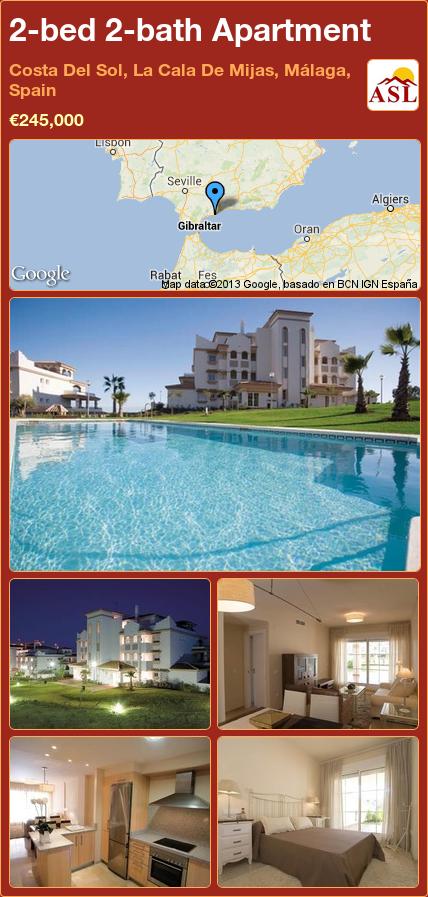 2 Bed 2 Bath Apartment In Costa Del Sol La Cala De Mijas Málaga Spain 245 000 Propertyforsaleinspain Málaga Costa Spain