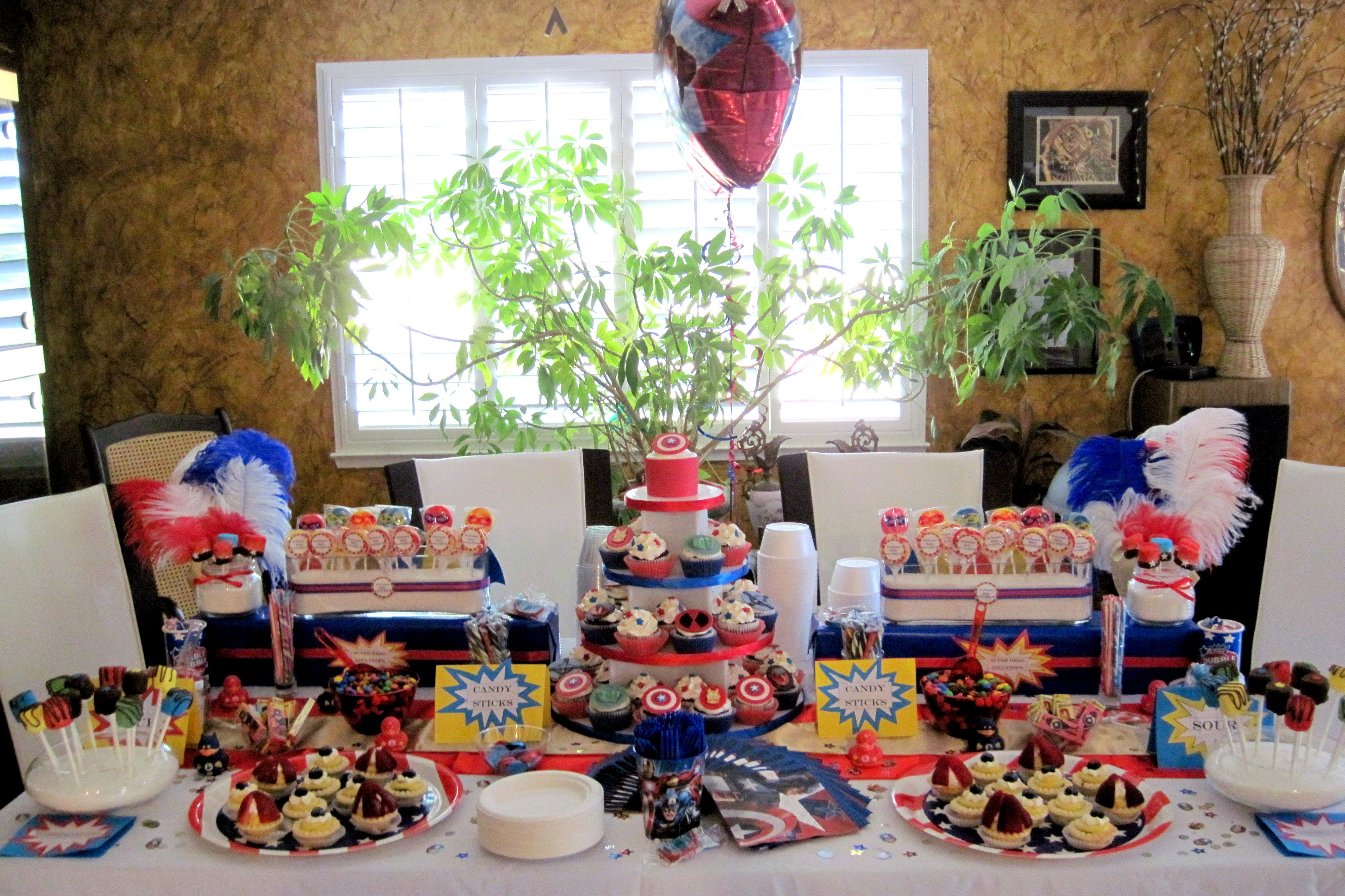 Avengers Themed Baby Shower