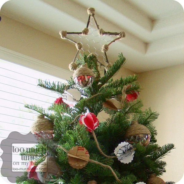 Nice Stick And Chicken Wire Tree Topper Better Homes And Gardens Tree Topper  From Kim At Too