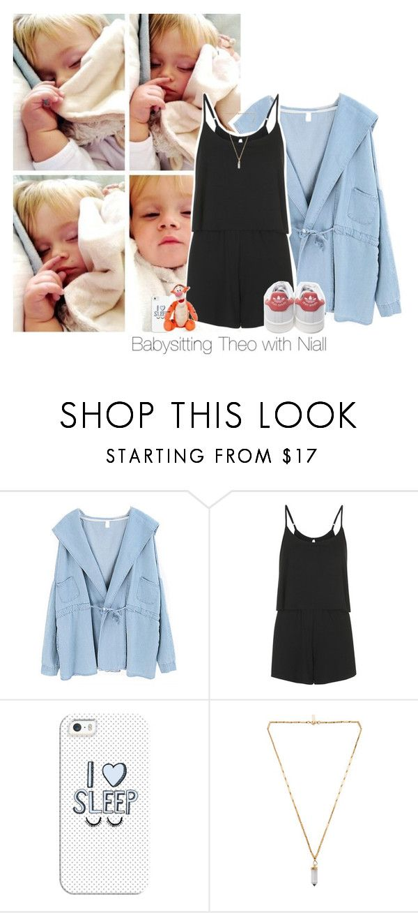"""""""Request: Babysitting Theo with Niall"""" by reasongirl ❤ liked on Polyvore featuring Chicnova Fashion, Topshop, adidas, Casetify, Isabel Marant and Disney"""