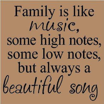 Quotes On Family Stunning Family Is Like Music Pictures Photos And Images For Facebook