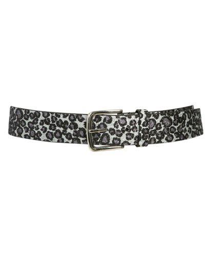 Glitter Leopard Belt from WetSeal.com