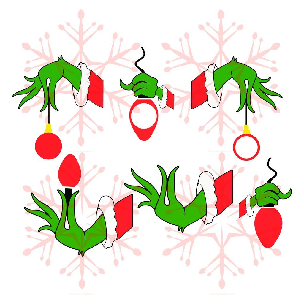 How The Grinch Stole Christmas Silhouette Whoville Grinch Hand Svg Free Clipart Full Size Clipar Grinch Hands Grinch Christmas Cards Grinch Stole Christmas