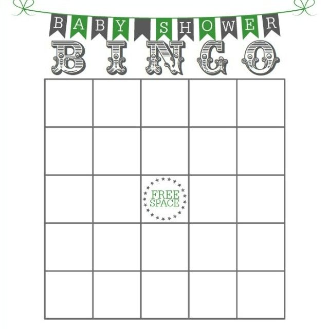 Baby Shower Game Ideas That Are Unique! Baby Shower Bingo Includes A Free  Printable!