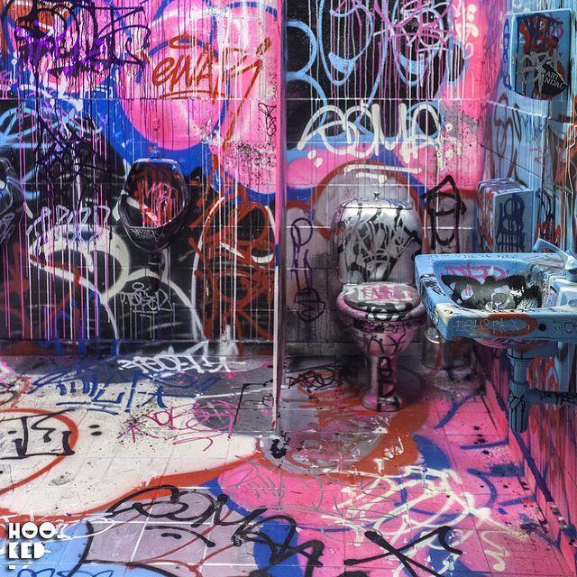 Französischer Graffitikünstler, Tilt – NuArt Film Weiterlesen: www.hookedblog….