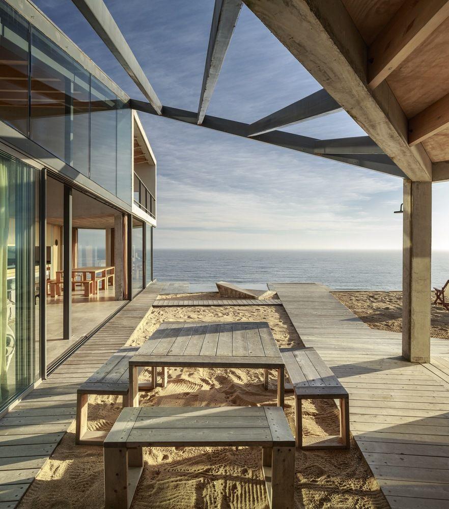 Gallery Of Beach House Schmidt Arquitectos Asociados 7 Luxury Beach House Beach House Room Beach House Decor