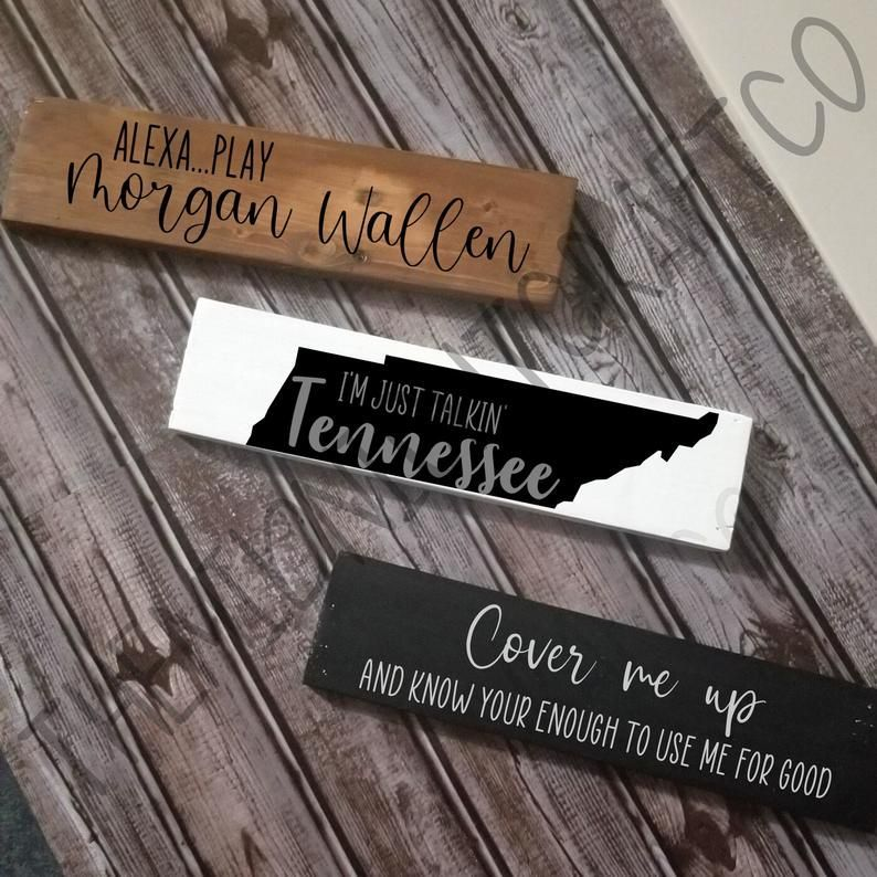 Cover Me Up Morgan Wallen Talkin Tennessee Wood Sign Country Music Lyrics Lyric Art Lyric Home Decor Gift For Her Farmhouse In 2021 Wood Signs Country Music Lyrics Country Signs