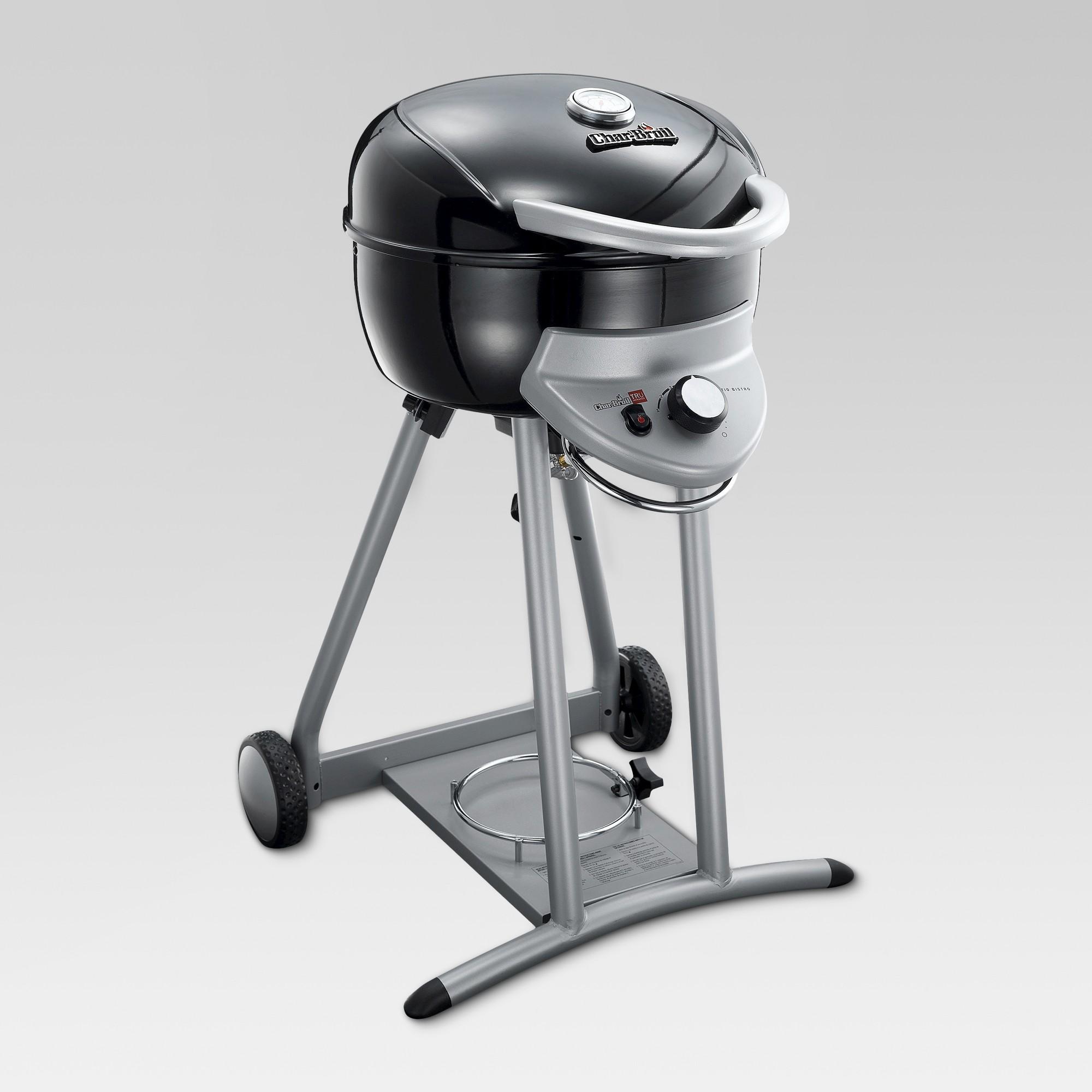 Char Broil Tru Infrared Gas Patio Bistro Deluxe 360 Grill Black