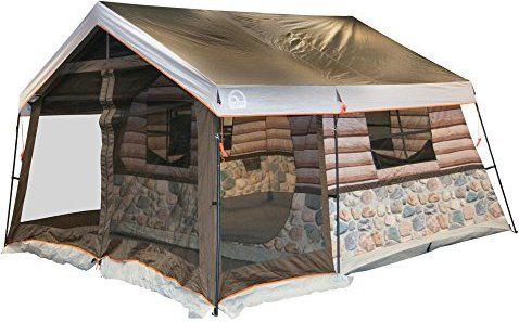 Igloo Log Cabin Lodge Tent and Screen Porch