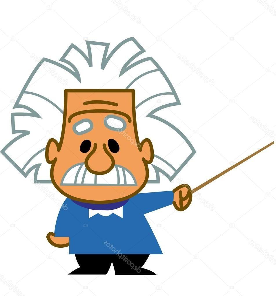 Best Stock Illustration Albert Einstein Cartoon Design Cartoon Clip Art Cartoon Design Cartoon