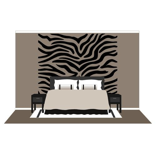 Zebra Stripes Large Wall Mural Things I Would Like In
