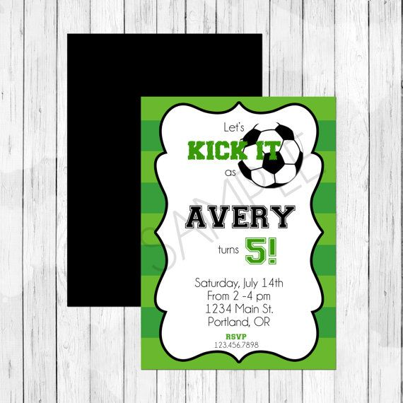 soccer theme party personalized birthday by lemonberrymoon on etsy