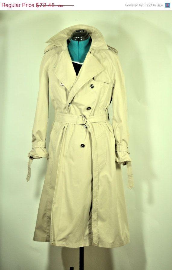 Vintage London Fog Long Dress Jacket GKUDY