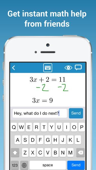 Math Chat App - ! In that moment where you are struggling ...