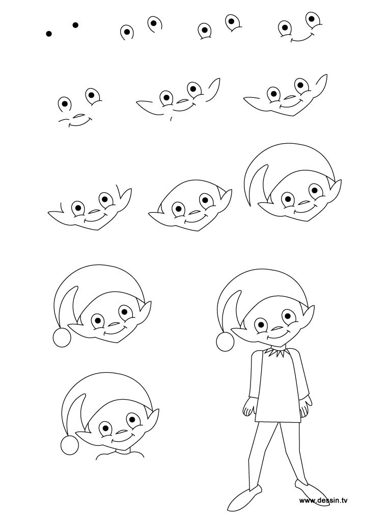 How to draw a fairy step by step learn how to draw an for How to draw a cartoon fairy