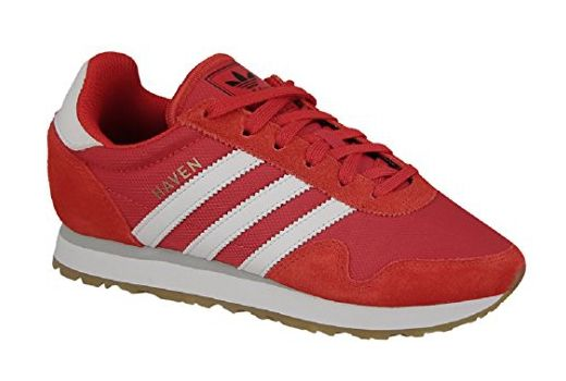 adidas Originals Unisex-Kinder Haven J Sneaker, Rot (Red ...