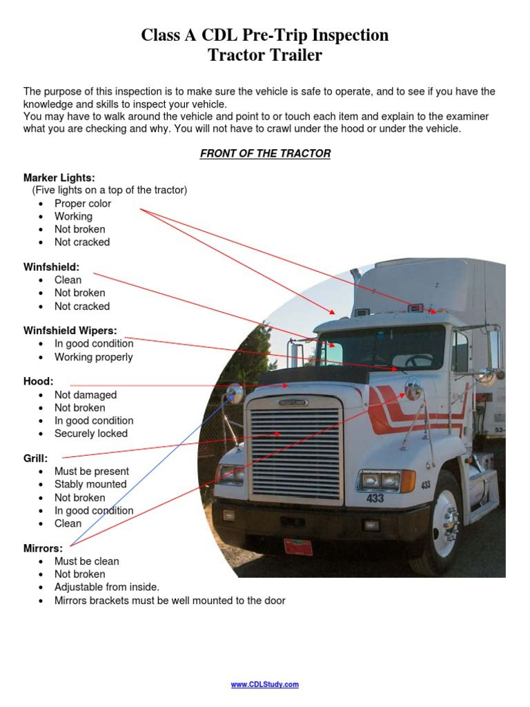 Texas Car Inspection >> Truck Driver Training Courses Strategically Placed San