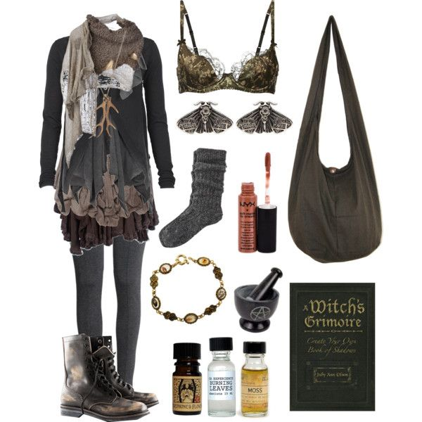 Dark Mori Forest Cottage Witch By Bloodmoonsuccubus On Polyvore Featuring Mode Allsaints Hm Agent Provocateur River Island Cooper By Trelise