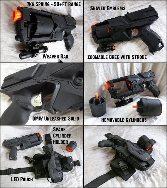 Pin On Nerf Mods For The Kiddos