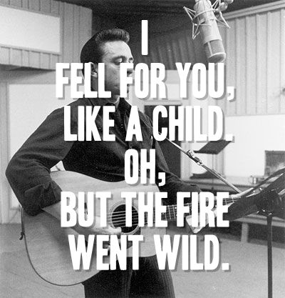 Ring Of Fire Johnny Cash Country Music Johnny Cash
