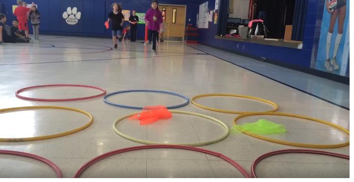 Tic Tac Toe Relay Pe Activity Physical Education Pe