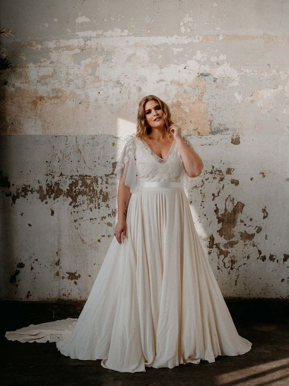 Photo of The Ideal Dress for the Plus Size Bride – Clube Brides