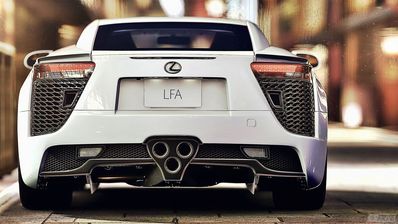 Lexus Lfa Rain Race Hd Wallpaper Free Download Lexus Lexus Lfa