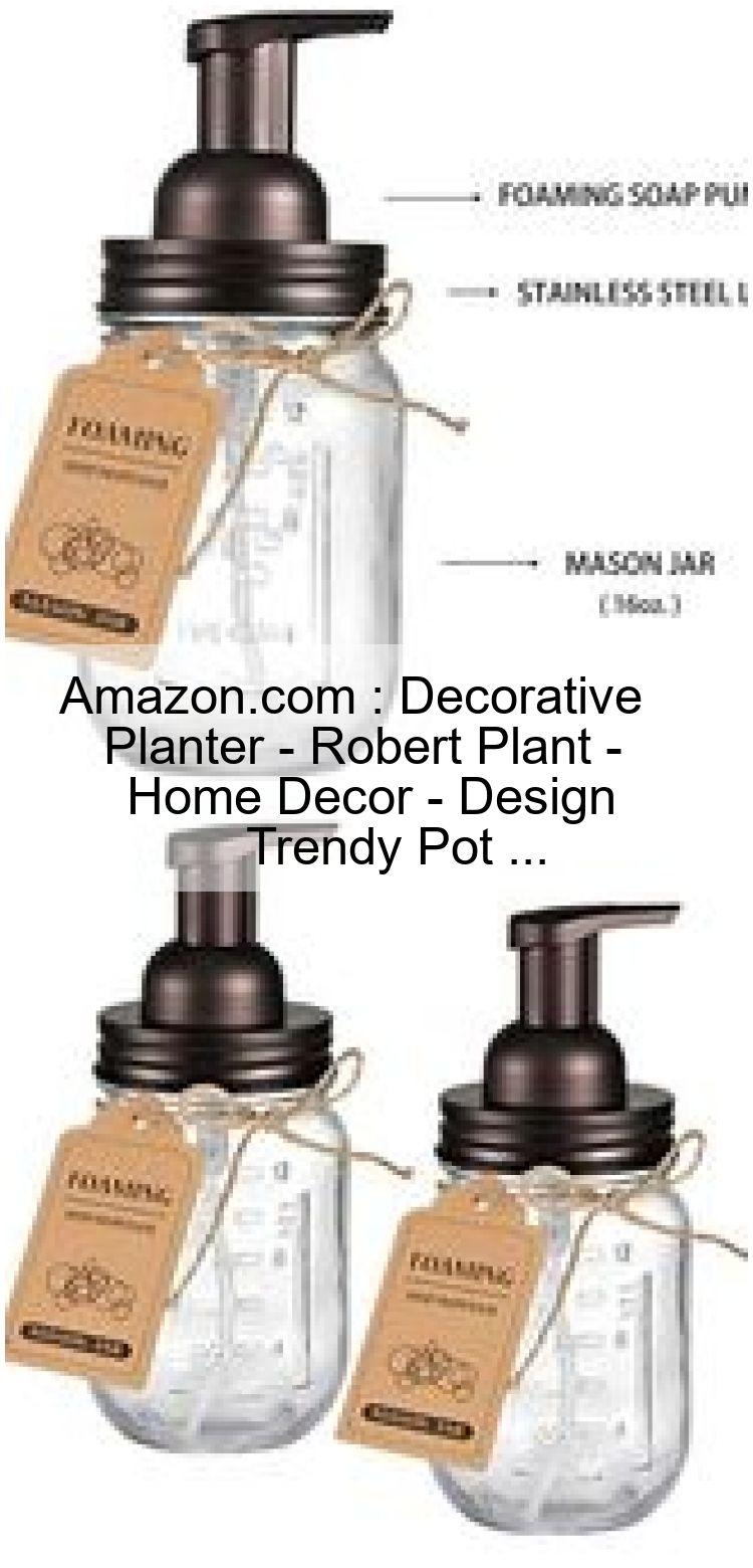 Decorative planter robert plant home