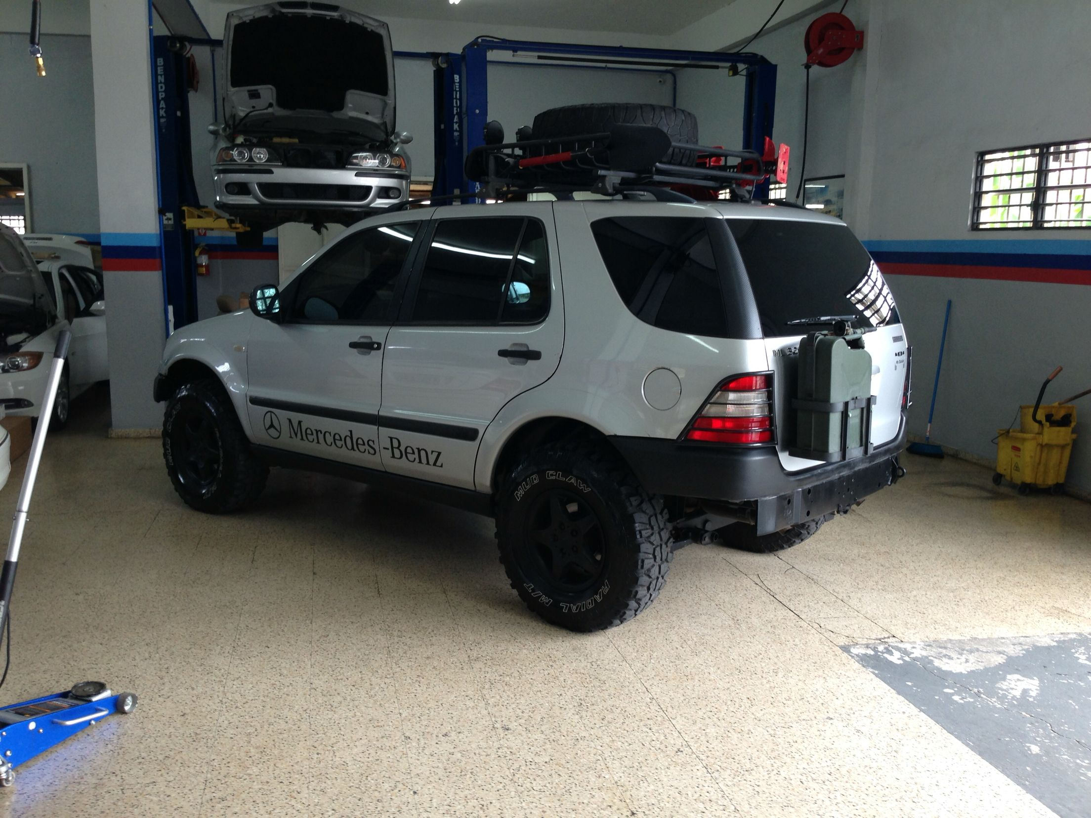 Pin On Mercedes Ml Off Road