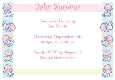 newborn baby shower invitation taza baby shower Pinterest