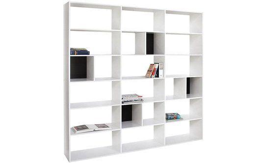 Libreria west bianca conforama home sweet home home for Libreria conforama