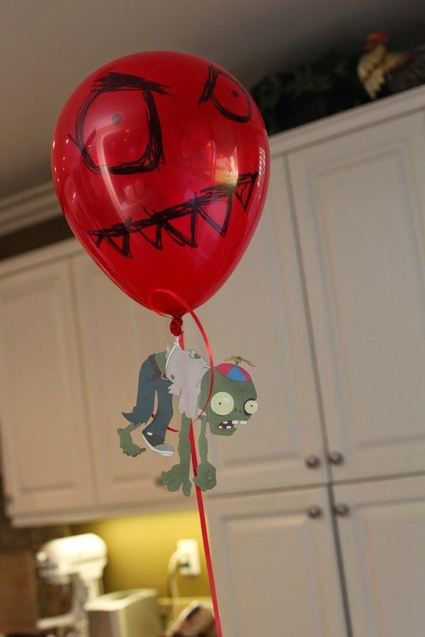 Photo of Wünsche und Wünsche: Partyplanung: Plants vs. Zombies Inspired Birthday Party des …