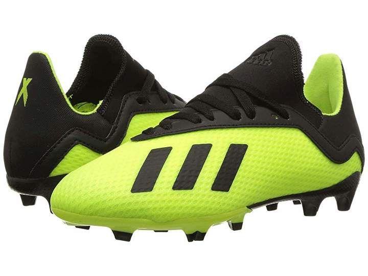 5b7174172817e adidas Kids X 18.3 FG Soccer (Little Kid Big Kid)