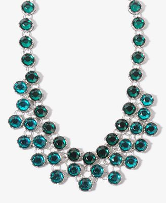 $13.80 Duo-Tone Collar Necklace   FOREVER21