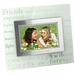 Forever Friends Glass Picture Frame 1997 Best Friend Gifts